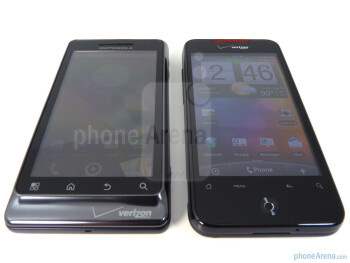 Motorola DROID 2 (left) and HTC Droid Incredible (right) - Motorola DROID 2 vs. HTC Droid Incredible