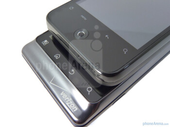 HTC Droid Incredible (above) andMotorola DROID 2 (bellow) - Motorola DROID 2 vs. HTC Droid Incredible