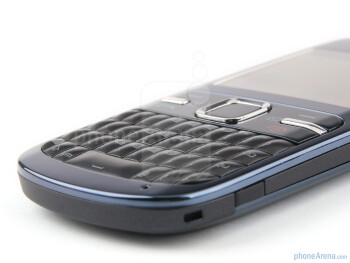 The Nokia C3 is comfortable to type - Nokia C3 Review