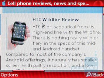 The Nokia C3 comes with Opera Mini - Nokia C3 Review