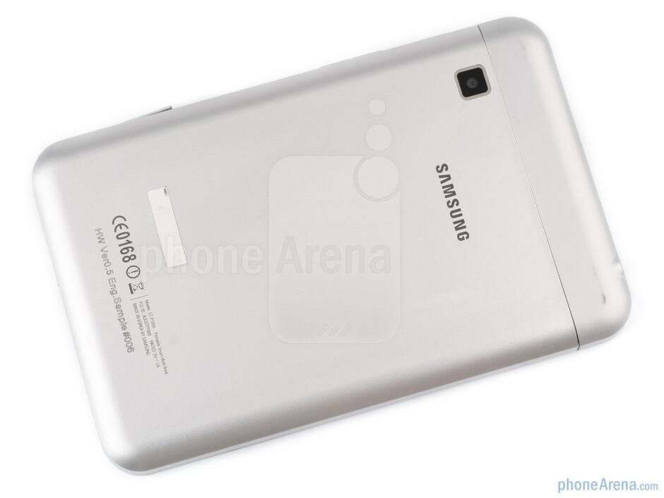 The Samsung Galaxy Tab feels pretty solid in the hands - Samsung Galaxy Tab Preview