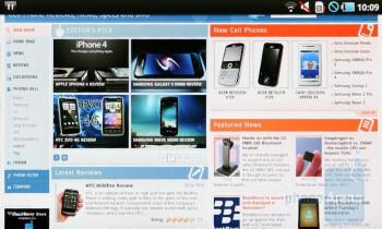Samsung Galaxy Tab Preview