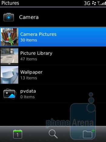 Gallery of the RIM BlackBerry Torch 9800 - Motorola DROID 2 vs RIM BlackBerry Torch 9800