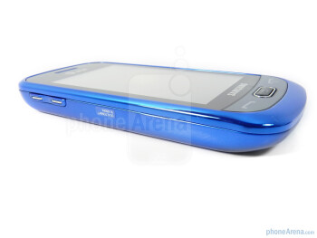 The sides of the Samsung Eternity II - Samsung Eternity II Review