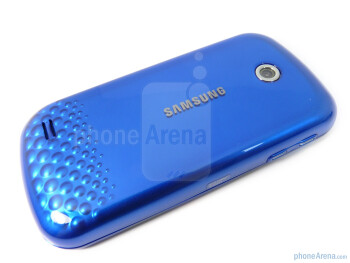 Back - Corners are rounded on the Samsung Eternity II - Samsung Eternity II Review