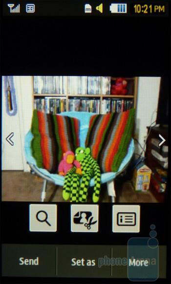 Gallery - Samsung Eternity II Review