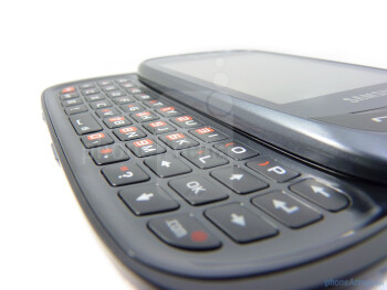 The Samsung Flight II decides to go with a landscape sliding keyboard - Samsung Flight II Review