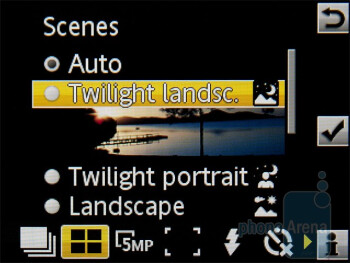 Camera interface - Sony Ericsson Hazel Review