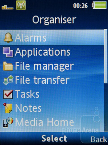 Organizer - Sony Ericsson Hazel Review