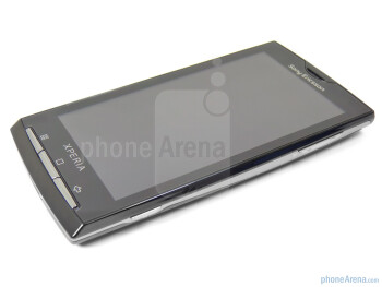 "The Sony Ericsson Xperia X10a has a 4"" TFT display - Sony Ericsson Xperia X10a Review"
