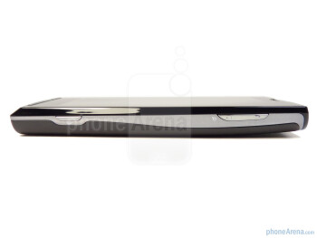 The sides of the Sony Ericsson Xperia X10a - Sony Ericsson Xperia X10a Review