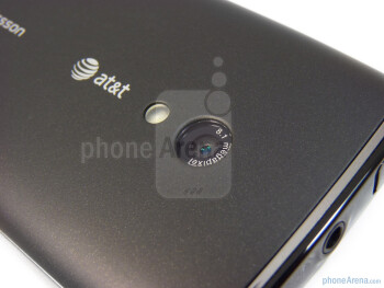 Back - Sony Ericsson Xperia X10a Review