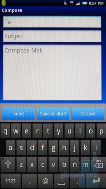 Email - Sony Ericsson Xperia X10a Review
