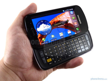 Samsung Epic 4G feels too light for what it is - Samsung Epic 4G Review
