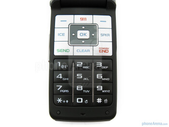 Keypad - Samsung Haven Review