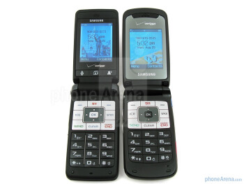 Samsung Haven (left, bottom) and Samsung Knack (right, top) - Samsung Haven Review