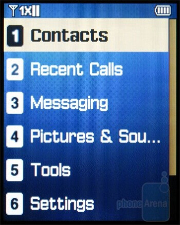 Phonebook - Samsung Haven Review