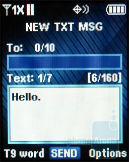 Messaging - Samsung Gusto Review