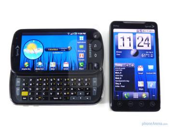 Samsung Epic 4G vs HTC EVO 4G