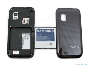 The sides of Samsung Fascinate - Samsung Fascinate Review