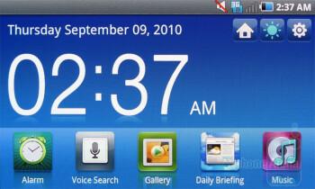 Desk Cradle app - Samsung Fascinate Review