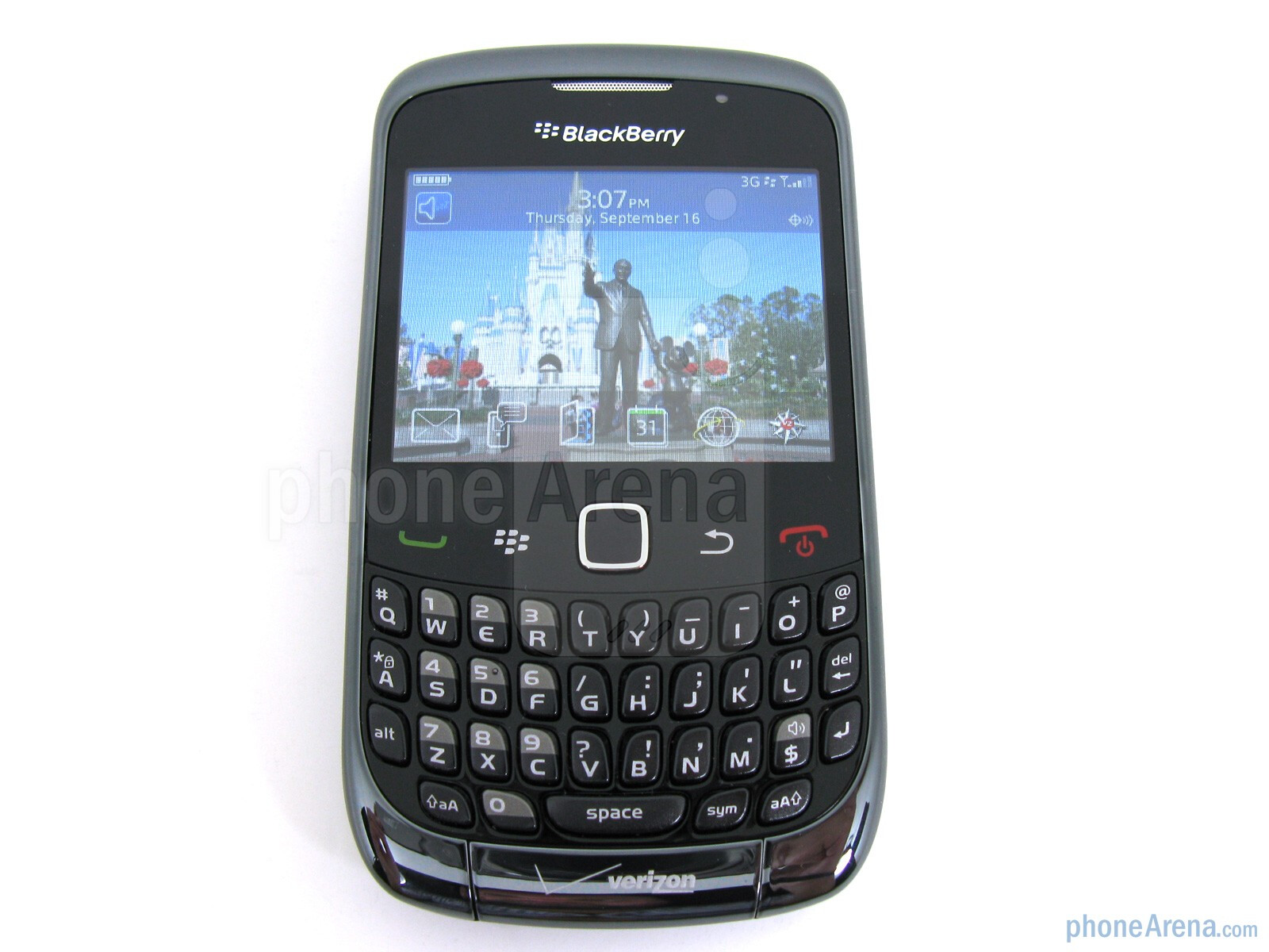 rim blackberry curve 3g for verizon wireless review rh phonearena com AT&T Cell Phones BlackBerry Curve AT&T BlackBerry Curve