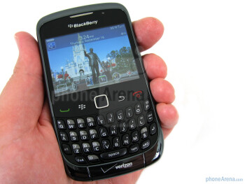 The overall construction of the RIM BlackBerry Curve 3G 9330  is light weight (3.7oz) and feels durable - RIM BlackBerry Curve 3G for Verizon Wireless Review