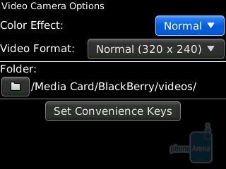 Camera interface - RIM BlackBerry Curve 3G for Verizon Wireless Review