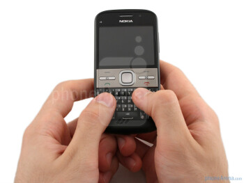 The Nokia E5 provides a solid feel, decent weighting, curved edges that feel comfortable to hold, and all in a relatively slim-line device - Nokia E5 Review