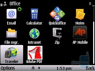Office - Applications - Nokia E5 Review