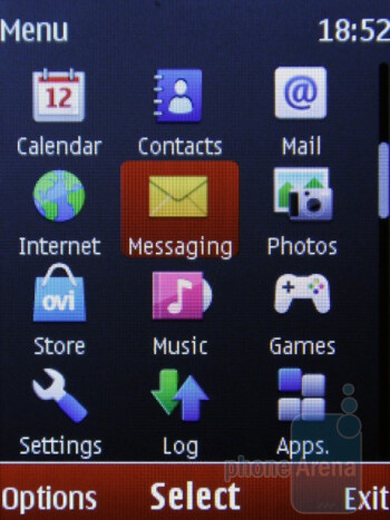 The interface of the Nokia X2 - Nokia X2 Review