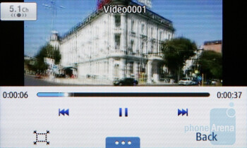 Video playback on the Samsung Wave 723 - Samsung Wave 723 Review