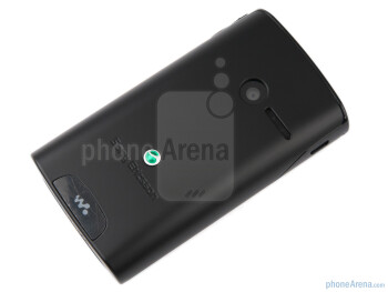 The back side of the Sony Ericsson Yendo - Sony Ericsson Yendo Preview
