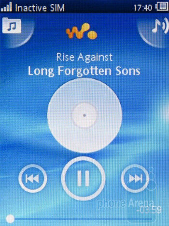 The Walkman music player - Sony Ericsson Yendo Preview