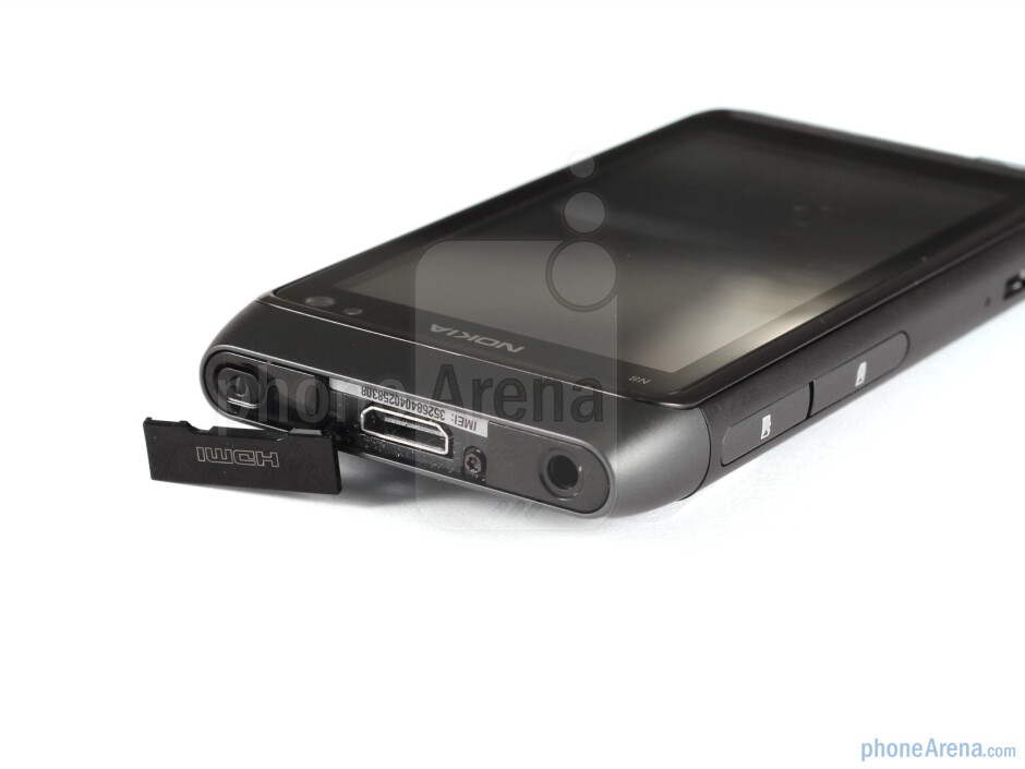 The only areas of the Nokia N8 not encased in anodised aluminium are its ends - Nokia N8 Review