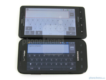 Samsung Fascinate vs Motorola DROID X