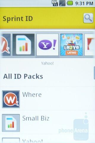 Sprint ID service - Samsung Transform Review