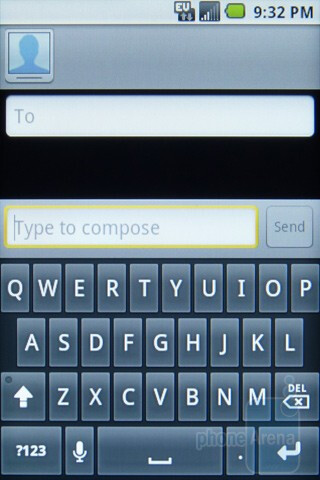 Messaging and contacts - Samsung Transform Review