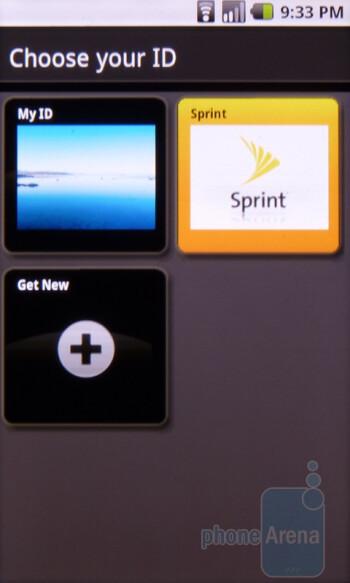 Sprint ID service - Sanyo Zio Review