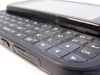 The QWERTY keyboard sports a venerable layout - Samsung Craft Review