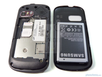 The back of the Samsung Craft - Samsung Craft Review