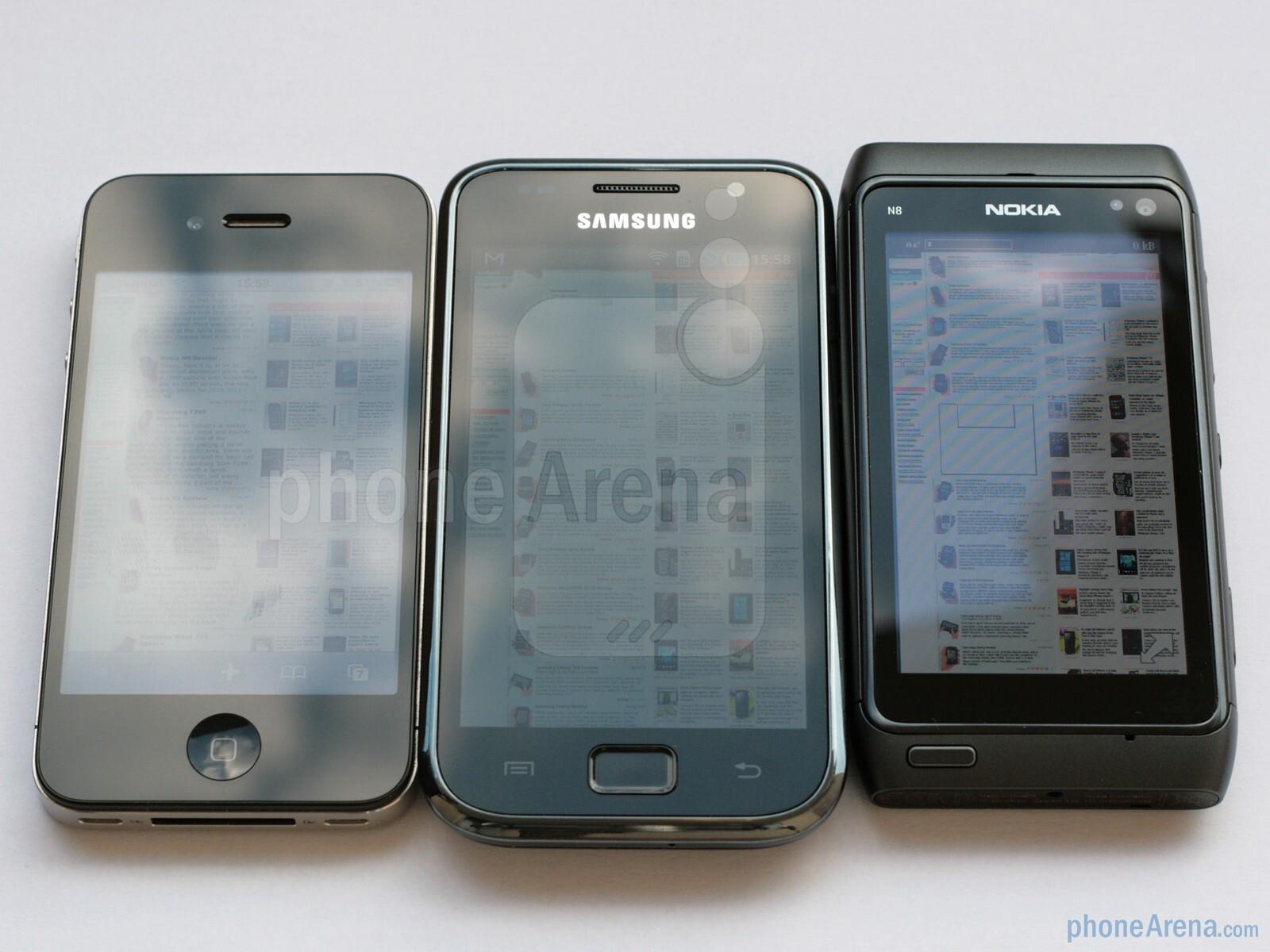 Nokia N8 vs Apple iPhone 4 - PhoneArena