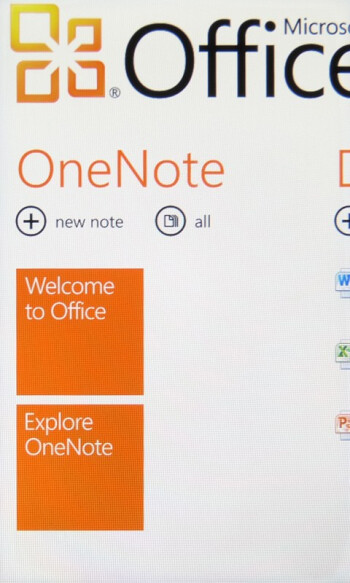 Microsoft Office integration with the HTC Surround - HTC Surround Review