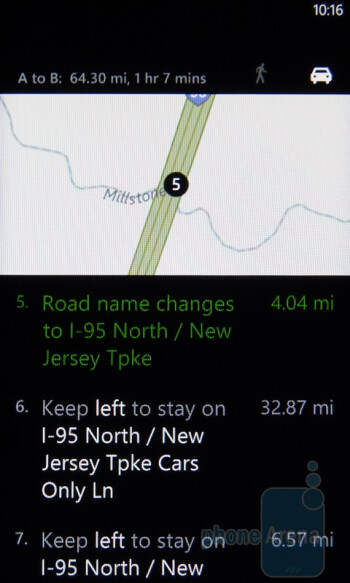 Bing Maps for Windows Phone 7 - HTC Surround Review