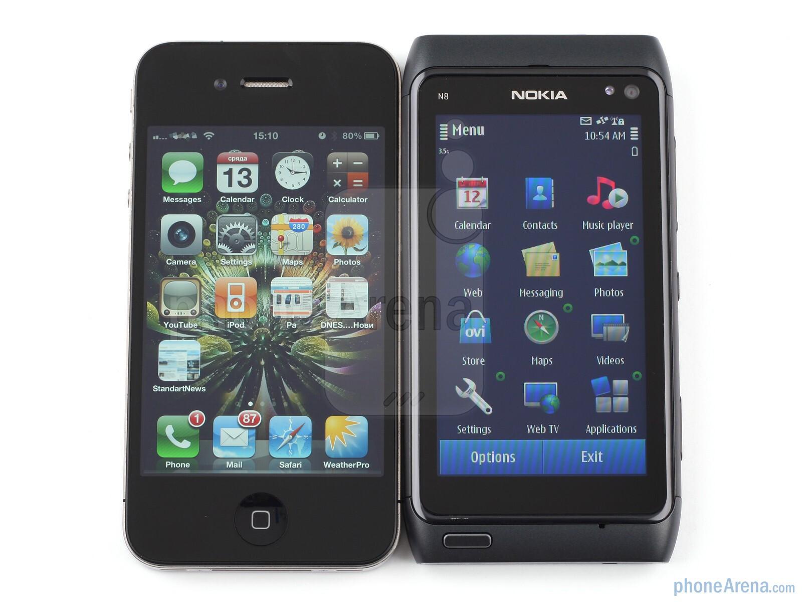 Nokia N8 Vs Apple Iphone 4 Phonearena