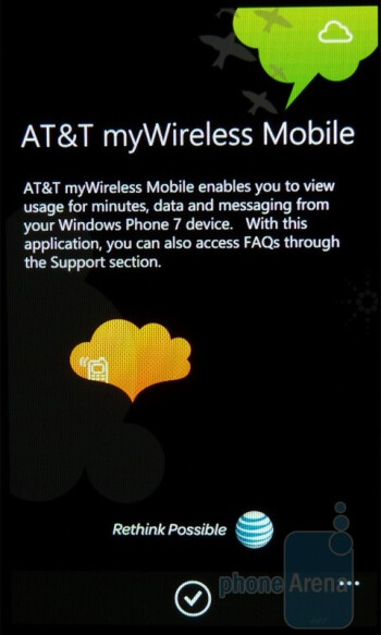 AT&T myWireless - AT&T U-verse mobileThe Samsung Focus packs in a healthy amount of carrier branded apps - Samsung Focus Review