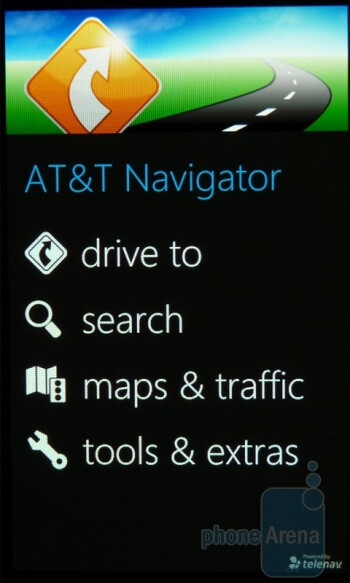 AT&T Navigator - AT&T U-verse mobileThe Samsung Focus packs in a healthy amount of carrier branded apps - Samsung Focus Review