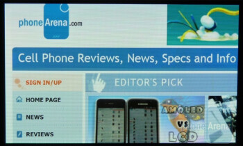 Internet Explorer offers one of the most satisfying experiences to date - Samsung Focus Review