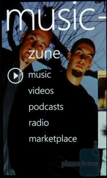 Zune on the Samsung Focus - LG Quantum vs Samsung Focus