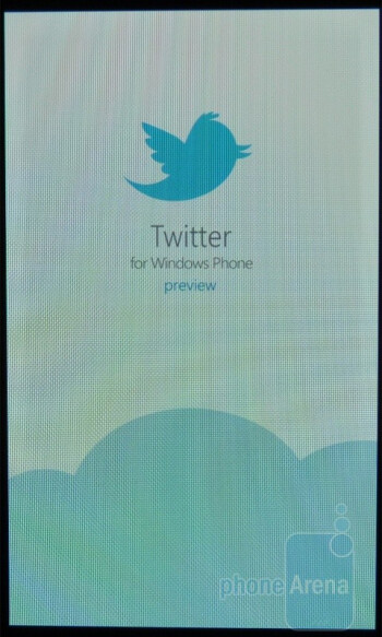 The preview of the official Twitter client - Samsung Focus Review